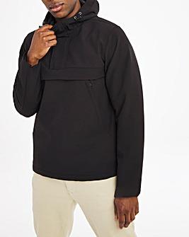 Black Overhead Jacket with Side Zip