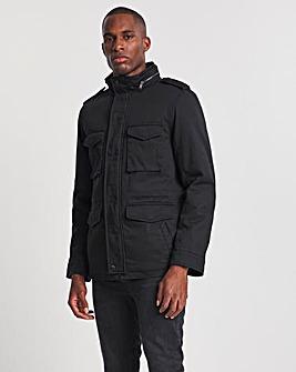 4 Pocket Jacket with Teddy Fur Lining