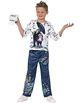 David Walliams Billionaire Boy Costume