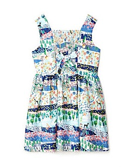 Yumi Girl French Garden Bow Dress