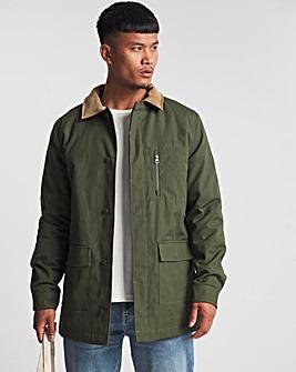 Khaki Worker Jacket