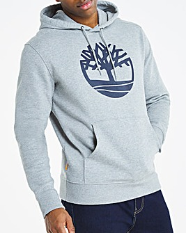 Timberland Tree Logo Pullover Hoodie