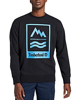 Timberland Mountain To River Crew Sweat