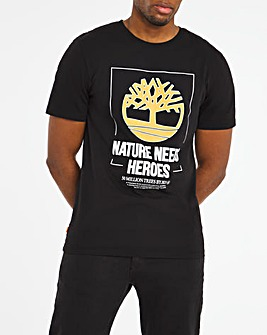 Timberland Nature Needs Heroes T-Shirt
