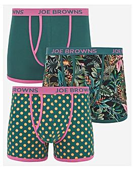 Joe Browns 3 Pack Trunks