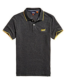 Superdry Poolside Pique Short Sleeve Polo