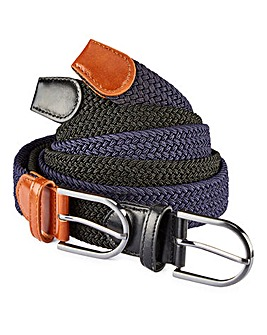 Capsule Pack of 2 Canvas Belts