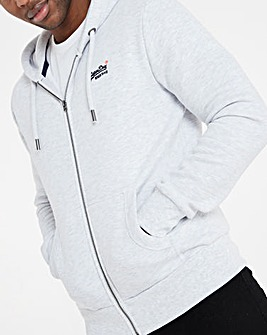 Superdry Classic Logo Zip Through Hoodie