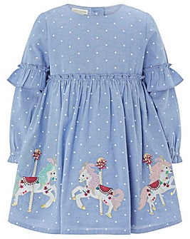 Monsoon Baby Lily Carousel Horse Dress