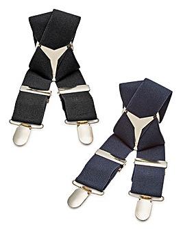 Capsule Pack of 2 Braces