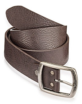 Capsule Brown Leather Jeans Belt