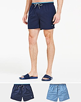 Pack of 2 Swimshorts