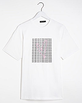 Together Slogan T-Shirt