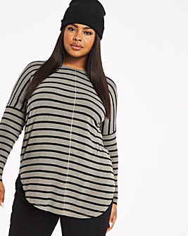 Oversized Stripe Tunic