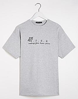 W.F.H Slogan T-Shirt