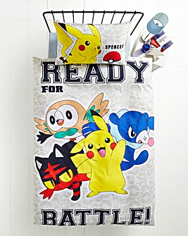 Pokemon Laredo Personalised Panel Duvet