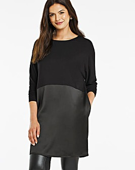 Luxe Essentials Satin Tunic