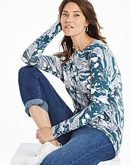 Printed Layering Top