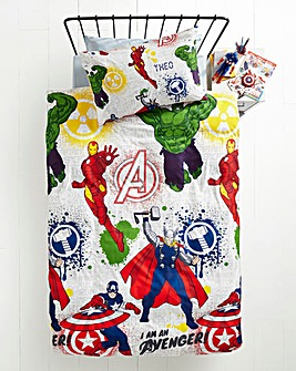 Avengers Mission Personalised Duvet