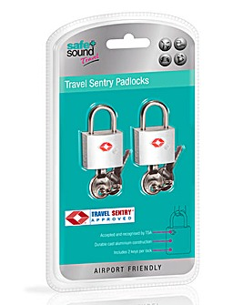Pair of TSA Padlocks