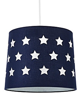 Children's Cut Out Light Shade with Shimmer Insert