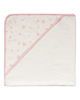 Silentnight Stars Hooded Towel
