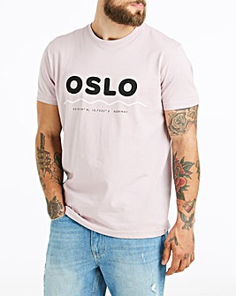 Jacamo Lilac Oslo T-Shirt Long