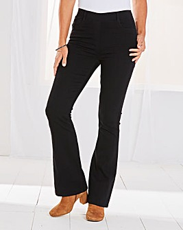Erin Pull-On Bootcut Jeggings Regular