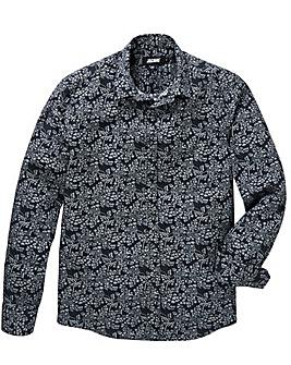 Black Label Black L/S Oriental Shirt L