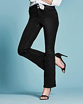 Shape & Sculpt Bootcut Jeans Reg
