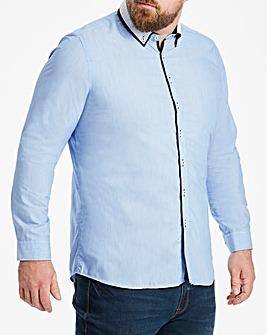 Blue Double Collar Shirt R