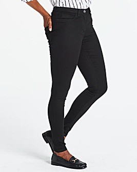 Petite Sophia Supersoft Fly Front Jeggings