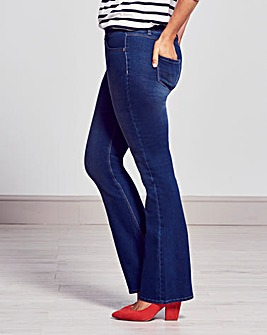 Petite Erin Pull-On Bootcut Jeggings