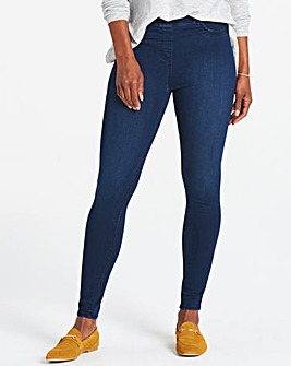 Amber Pull-On Skinny Jeggings Short Length