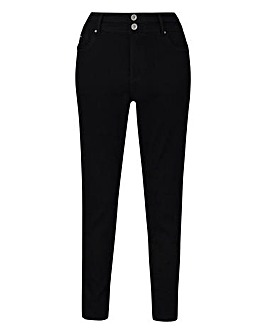 Black Shape & Sculpt Skinny Jeans Long