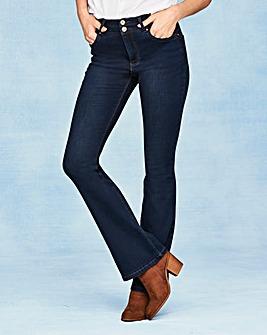 Shape & Sculpt Bootcut Jeans Long