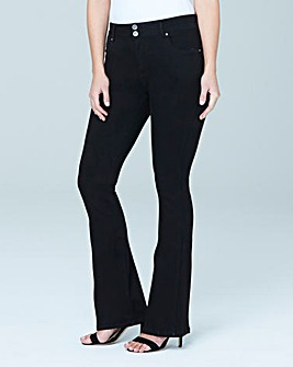 Indigo Shape & Sculpt High Waist Bootcut Jeans Long Length