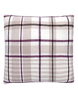 Lorraine Kelly Check Cushion