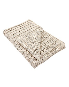 Lorraine Kelly Chunky Knit Throw