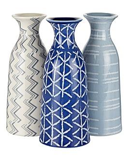 Lorraine Kelly Set of 3 Vases