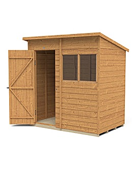 Forest 6x4 Pent Shed Reverse Window