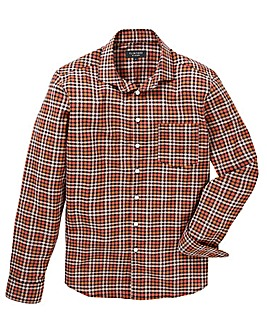 Flintoff By Jacamo L/S Checked Shirt L