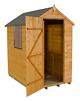 Forest 6x4 Apex Shiplap Shed with Window