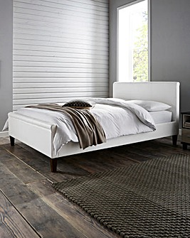 Amalfi Faux Leather Bedstead