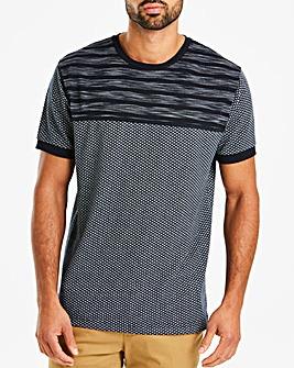 Jacamo Premium Textured T-Shirt Long