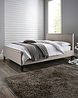 Amalfi Bed with Memory Mattress