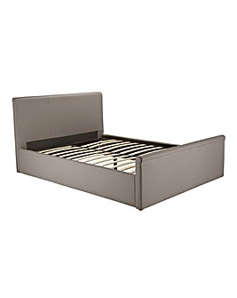 Amalfi Gaslift Kingsize Faux Leather Bed