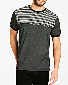 Jacamo Premium Textured Block T-Shirt Regular