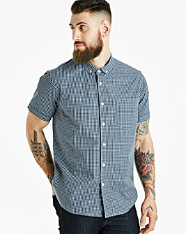 Jacamo Archer Check S/S Shirt Long