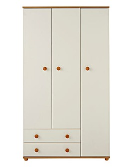 Aspen 3 Door 2 Drawer Wardrobe